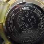 WCCS G Shock Japan K