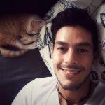 Foto Jonathan Putra Selfie Sebelum Tidur