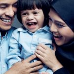 Foto Keluarga Zahiril Adzim Dan Shera Isteri, Anak