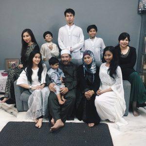 Foto Keluarga Eyra Hazali