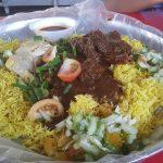 Hidangan Nasi Kari Kambing