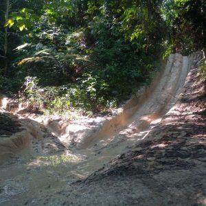 Laluan Trek ATV Di Kawasan Air Terjun Sofea Jane
