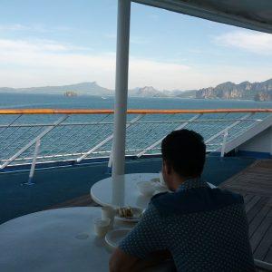 Pemandangan Di Atas Kapal Star Cruises