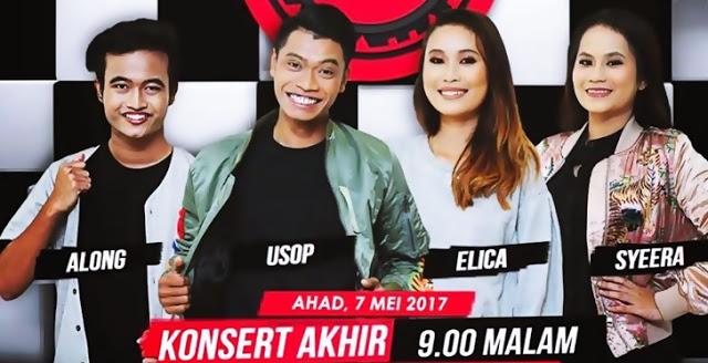 Peserta Akhir Mentor Milenia 2017 Along, Usop, Elica Dan Syeera