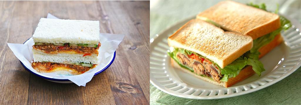 Sandwich Sardin Sedap