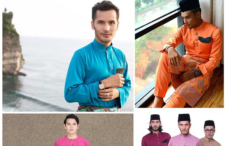 Pakaian Raya Jenama Selebriti Lelaki Malaysia