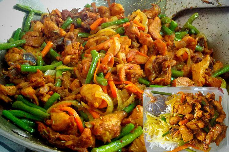 Resepi Nasi Ayam Goreng Kunyit! Menu Tengah Hari Yang Digemari Di Kuala Lumpur
