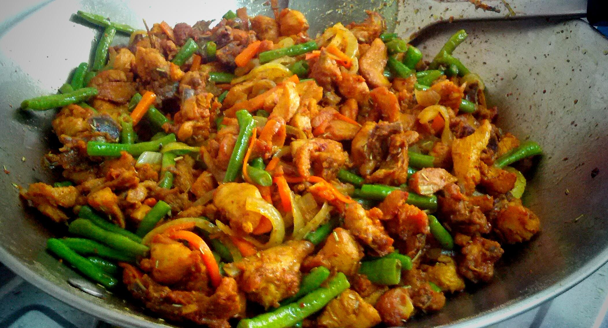 Resepi Nasi Ayam Goreng Kunyit
