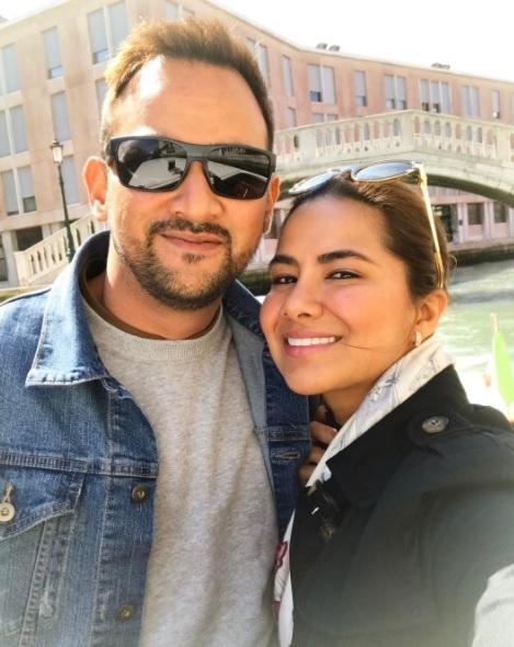 Gambar Nabila Noor Melancong Dengan Suami