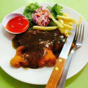Menu Chicken Chop Restoran #KitakanGeng
