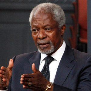 2001 Kofi Annan