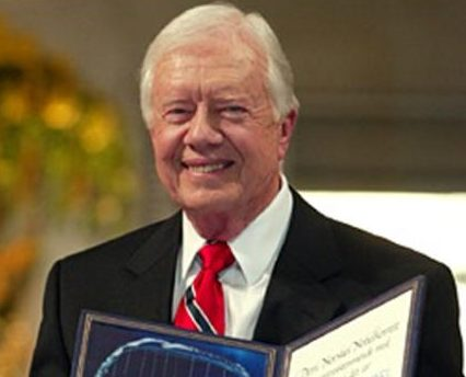 2002 Jimmy Carter Nobel Peace Prize