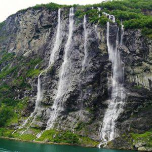 Tres Hermanas Falls Peru