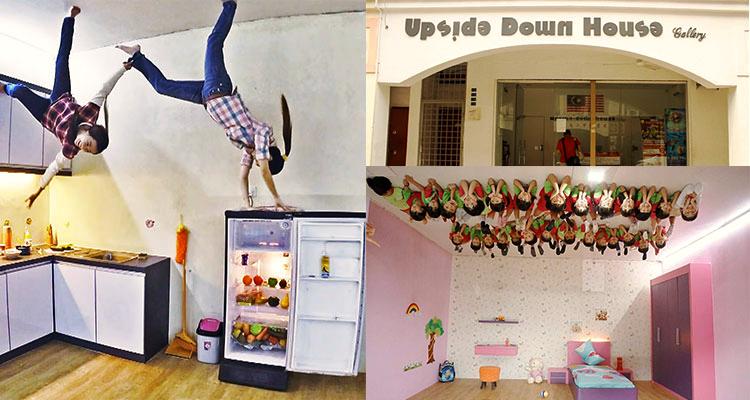 Upside Down House Melaka Foto