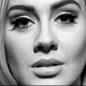 Adele Face Closed Up