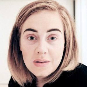 Adele Photo Haircut