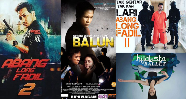 Filem Melayu Ogos 2017
