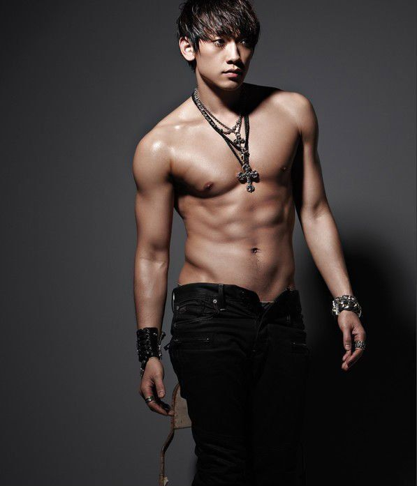 Jung Ji Hoon Hot Body Wallpaper
