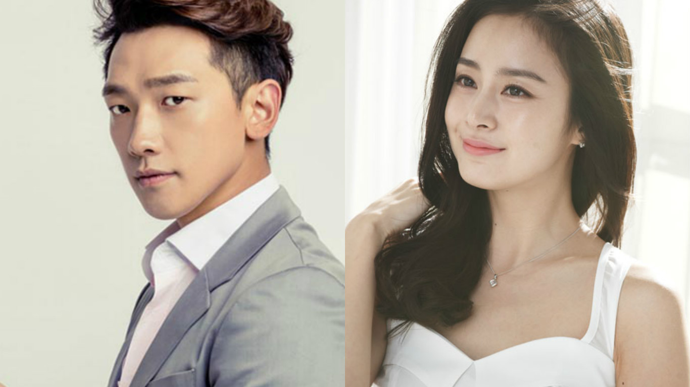 Rain And Wife Kim Tae Hee