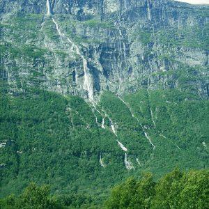 Vinnufossen Falls Norway