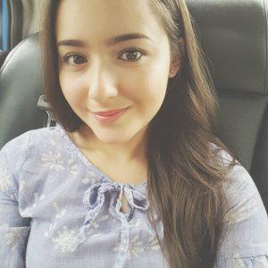 Wajah Anggun Hannah Delisha
