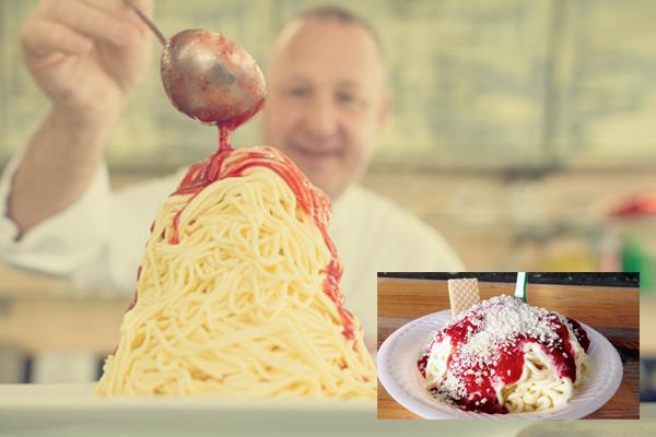 Spaghettieis Ice Cream Jerman