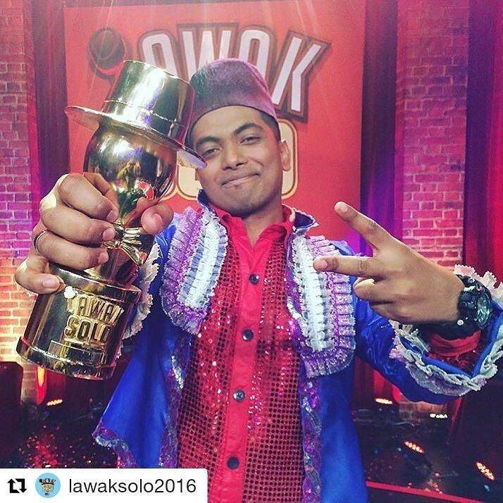 Pemenang Lawak Solo Danial Zaini