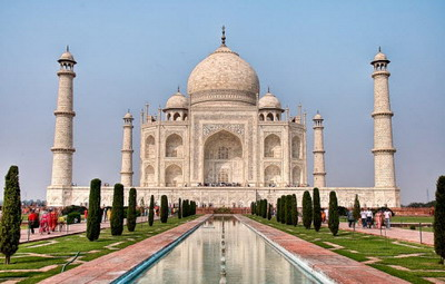 Taj Mahal Di Agra, India