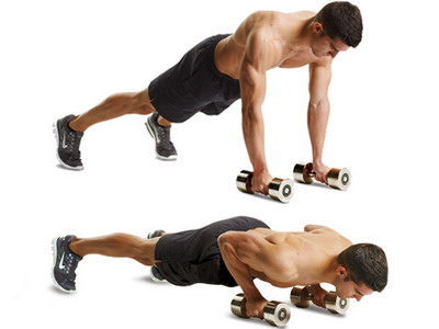 Dumbell Push Up