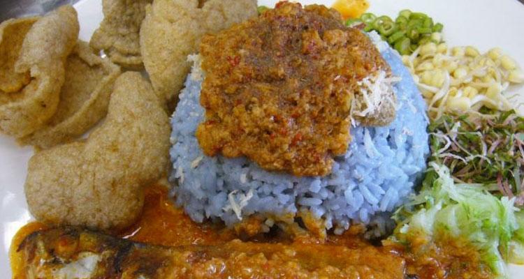 Resepi Nasi Kerabu Biru @ Nasi Kerabu Kelantan