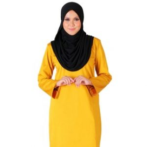 Mustard Fesyen Hijab 2018