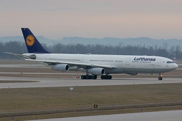 Airbus A340 300 Aircraft