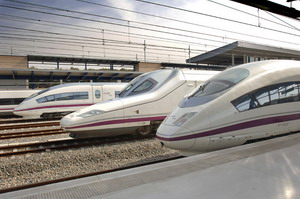 AVE High Speed Train (Spain)