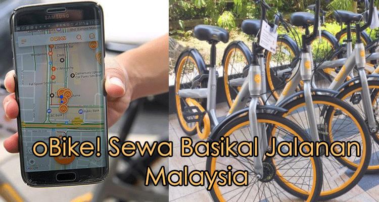 Cara Guna Perkhidmatan OBike. Sewa Basikal Jalanan Di Malaysia!