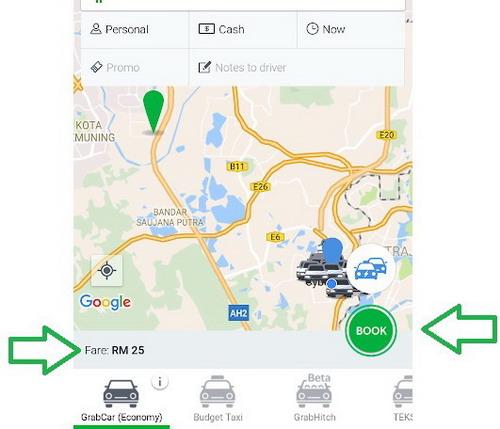 Grab Maps Car 5