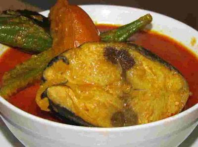 5 Ikan Tongkol Kari