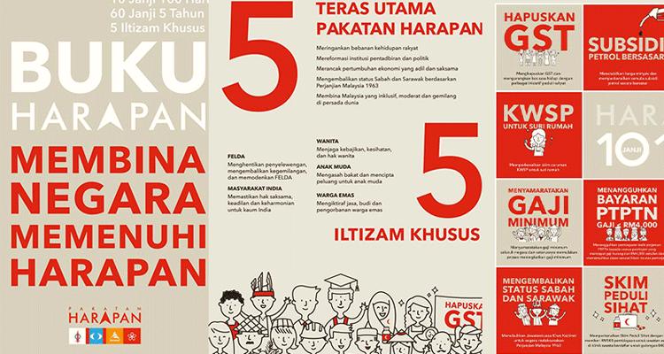 Manifesto Lengkap Pakatan Harapan Ke Arah Malaysia Baharu