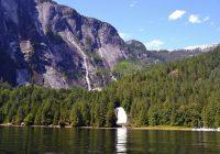 James Bruce Falls Canada