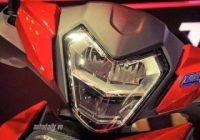Lampu depan model Honda RS150R