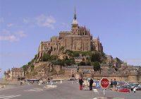 Mont Saint Michel Di Normandy, Perancis