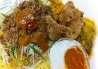 Nasi Kerabu Kuning Kelantan