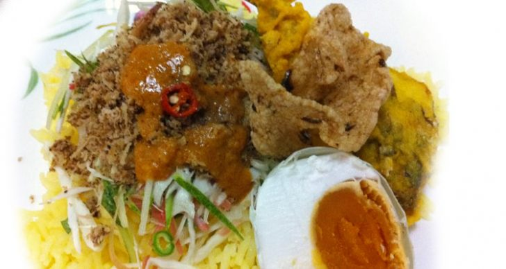 Permalink to Resipi Nasi Kerabu Kuning Kelantan
