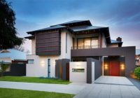 Rumah banglo moden gaya Australia house