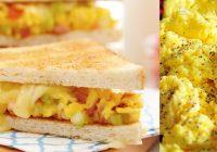 Sandwich Telur Keju