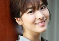 Song Hye Kyo Senyum