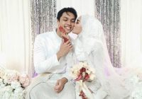 Syafiq Nazri & Nadia Azlan Shah Kahwin Photo