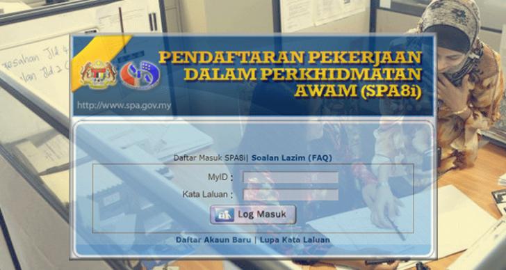 Permalink to Tatacara Mengisi Borang SPA8i Online Memohon Jawatan Dalam Kerajaan