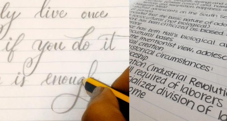 Permalink to Tips Mengasah Tulisan Tangan Supaya Cantik Dan Kemas!