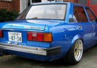 Toyota DX warna biru dengan rim crome