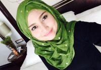 Ayda Jebat Pakai Tudung Cantik